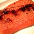 鮭のハラス。